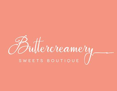 The Buttercreamery Brand Mark Redesign