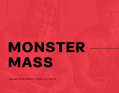 Monster Mass - UX/UI