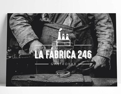 LA FÁBRICA 246: Branding, Editorial