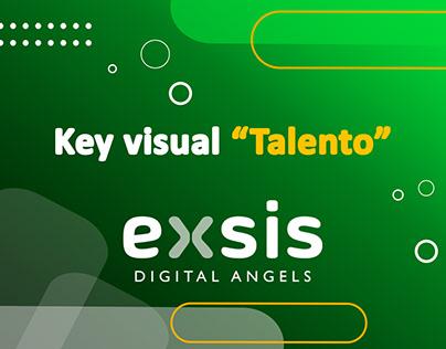 Key visual campaña Talento ti