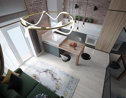 Квартира для особенного человека в г. Воронеж