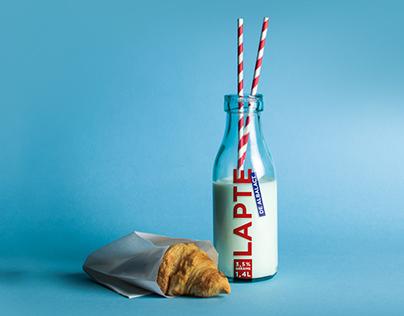 Albalact Milk Packaging