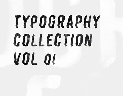 TYPOGRAPHY COLLECTION VOL 01
