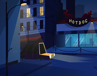 Quarantined Night | Animation