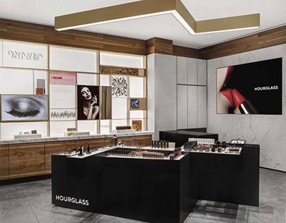 Hourglass Cosmetics Store Design