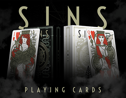SINS Playing Cards