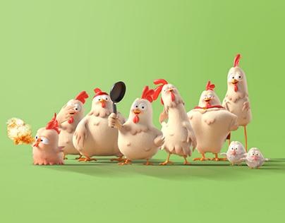 Halwani Chicken Stories