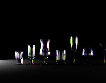 Cocktail Party - CGI Glass