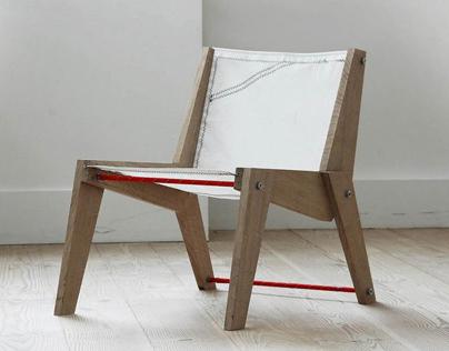 Sailcloth Lounge Chair