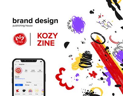 brand design KOZY ZINE™