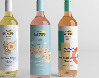 "Wine Tesoros ""Las Xanas"""