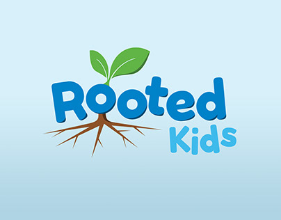 Rooted Kids logo concept