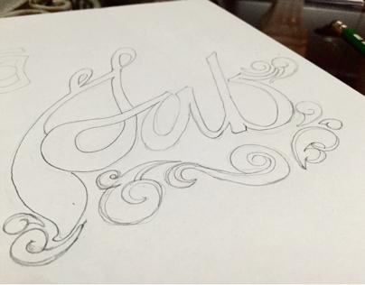 Calligraphy, Typography, Design