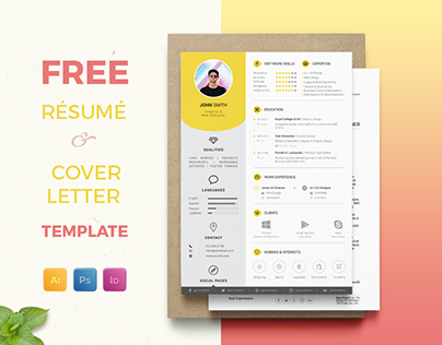 Free Resume / CV + Cover Letter Template