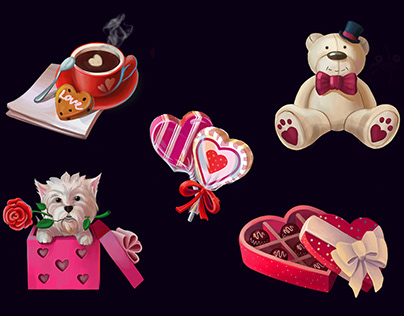 St. Valentine's icons