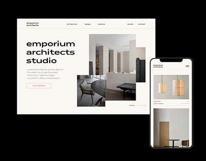 Emporium Architects - Web, Brand