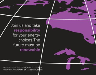 The Energy Debate | Poster Design
