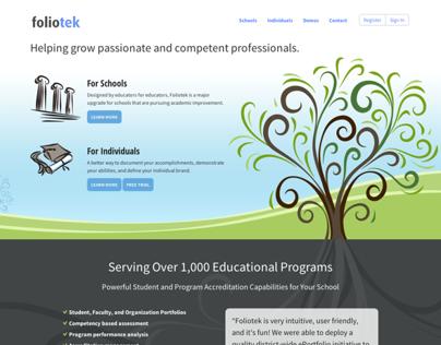 Foliotek Website