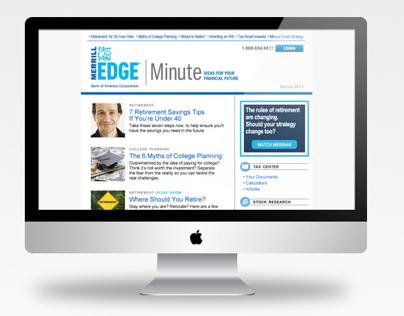 Merrill Edge Minute, eNewsletter