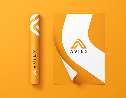 AVINX Logo & Visual Identity design
