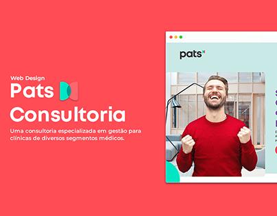 Pats Consultoria - Web Design