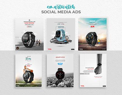 Social Media Banner   Smartwatch Social Media Ads