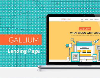 Gallium - Multi Purpose Business Template