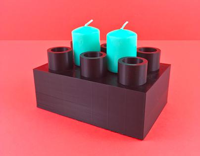 Lego Candleholders