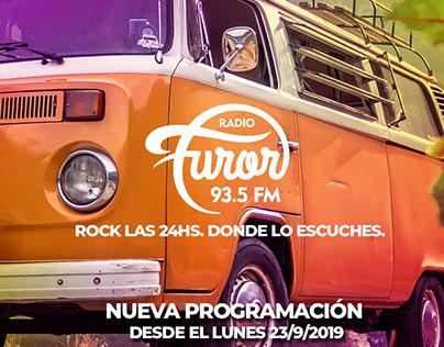 Radio Furor - varios web y redes