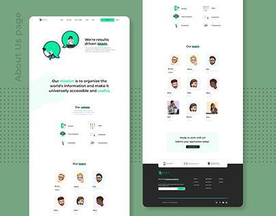 Website Redesign (SPOT APP)