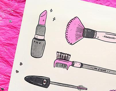 Make Me Up - Riso Print