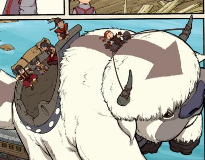 Avatar: The Last Airbender Comic Nickelodeon Magazine