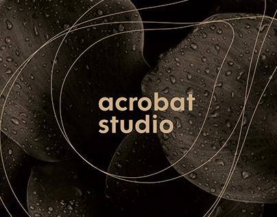 Rebrand Acrobat studio / logotype and CI
