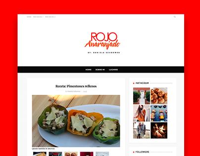 BLOG: Rojoanaranjado Wordpress Design