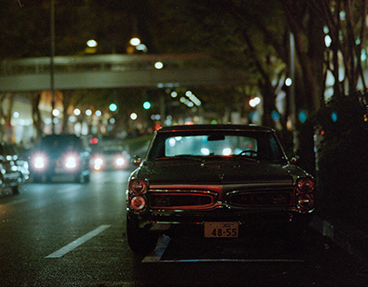 One night in Tokyo with 35mm film