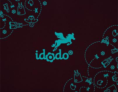Kids fashion brand identity - Idodo