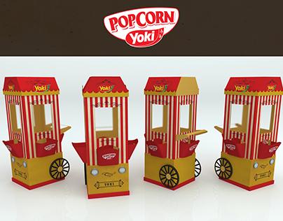 Yoki Popcorn Cart