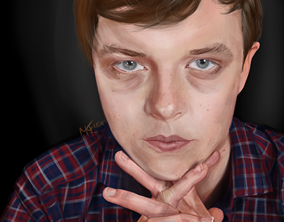 Dane Dehaan - Digital Portrait
