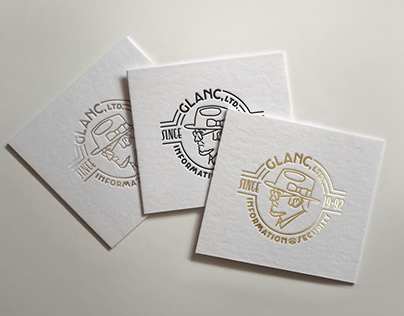 Brand identity for Glanc Ltd.