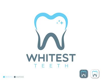 Abstract Teeth Logo Design, Dental Logo