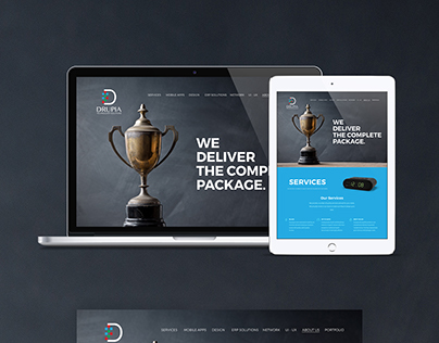 Home Page – Web Design  Drupia.com