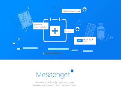 Messenger for Health Service App