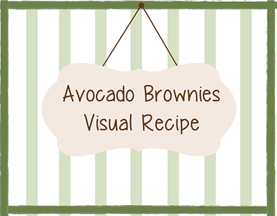 Avocado Brownies - Visual Recipe