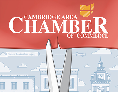 Illustrated Cover: Cambridge Area Chamber of Commerce