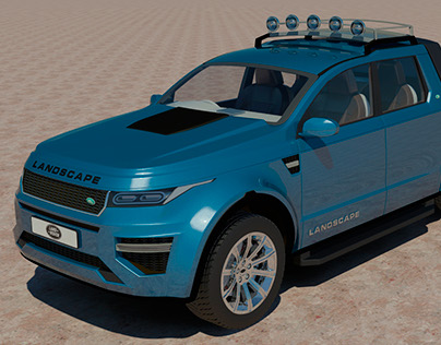 The Land Rover Discovery Landscape DC SVX Concept