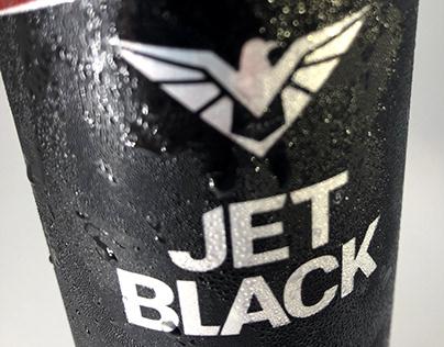 Jet Black Enerji İçeceği Ambalaj Tasarımı