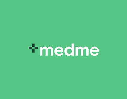 Medme — rebranding & redesign