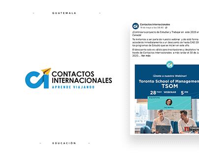 Contactos Internacionales - Social Media