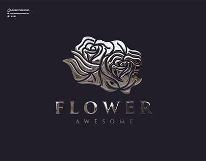 Flower Awesome Logo