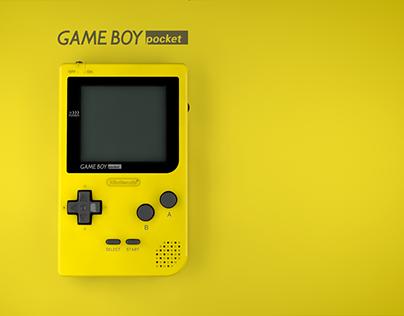 GameBoy Pocket - 3D
